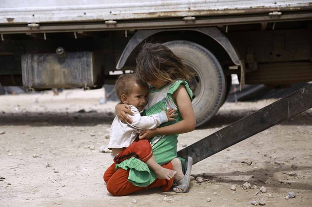 子は現実を映す鏡─シリア前線取材