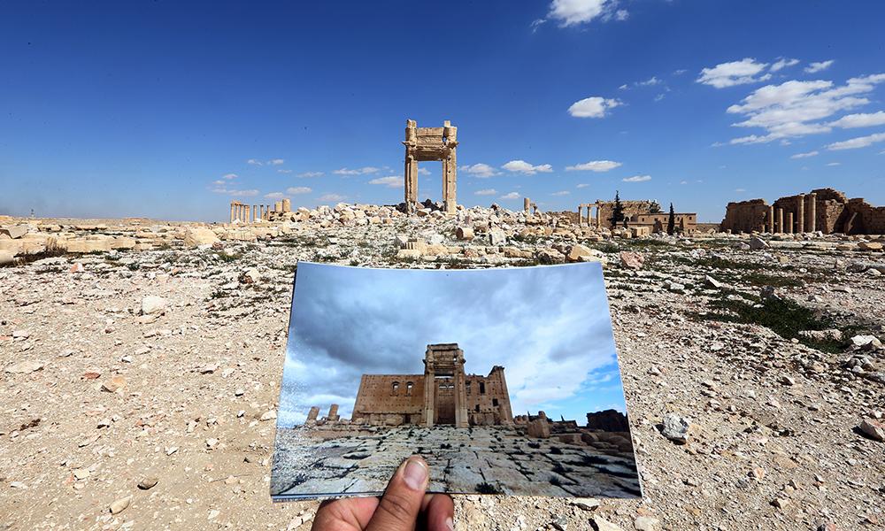 シリア前線取材